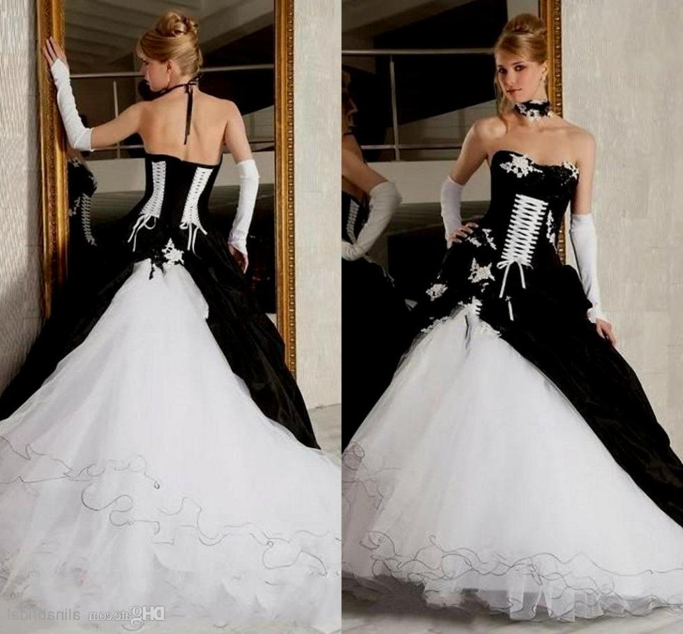 black-and-white-ball-gown-gothic-wedding-dresses-sexy-corset-4311980