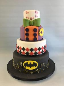 Sucide-squadbatman-Joker-wedding-cake